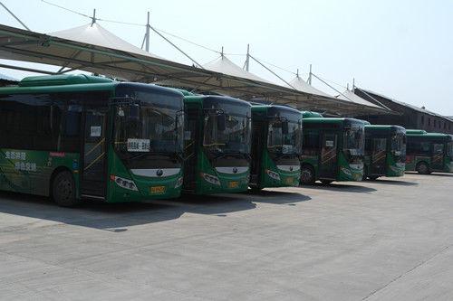 交通模范县城的新能源客车推进之路