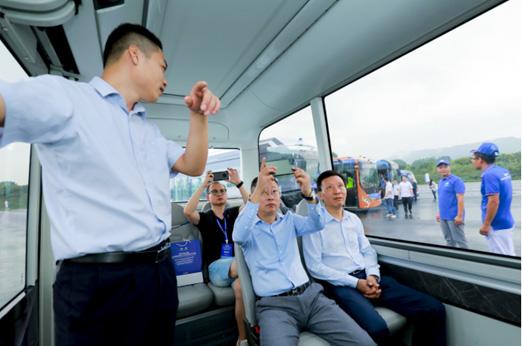 """冠军!宇通""""小宇""""问鼎首届全国自动驾驶客车营运能力挑战赛"""